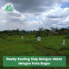 Kavling dan Hunian Nuansa Pegunungan dekat Stasiun Bogor
