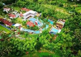 Dijual/sewa waterpark,Restaurant,villa,gym dll