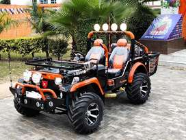 Modified willys open jeeps