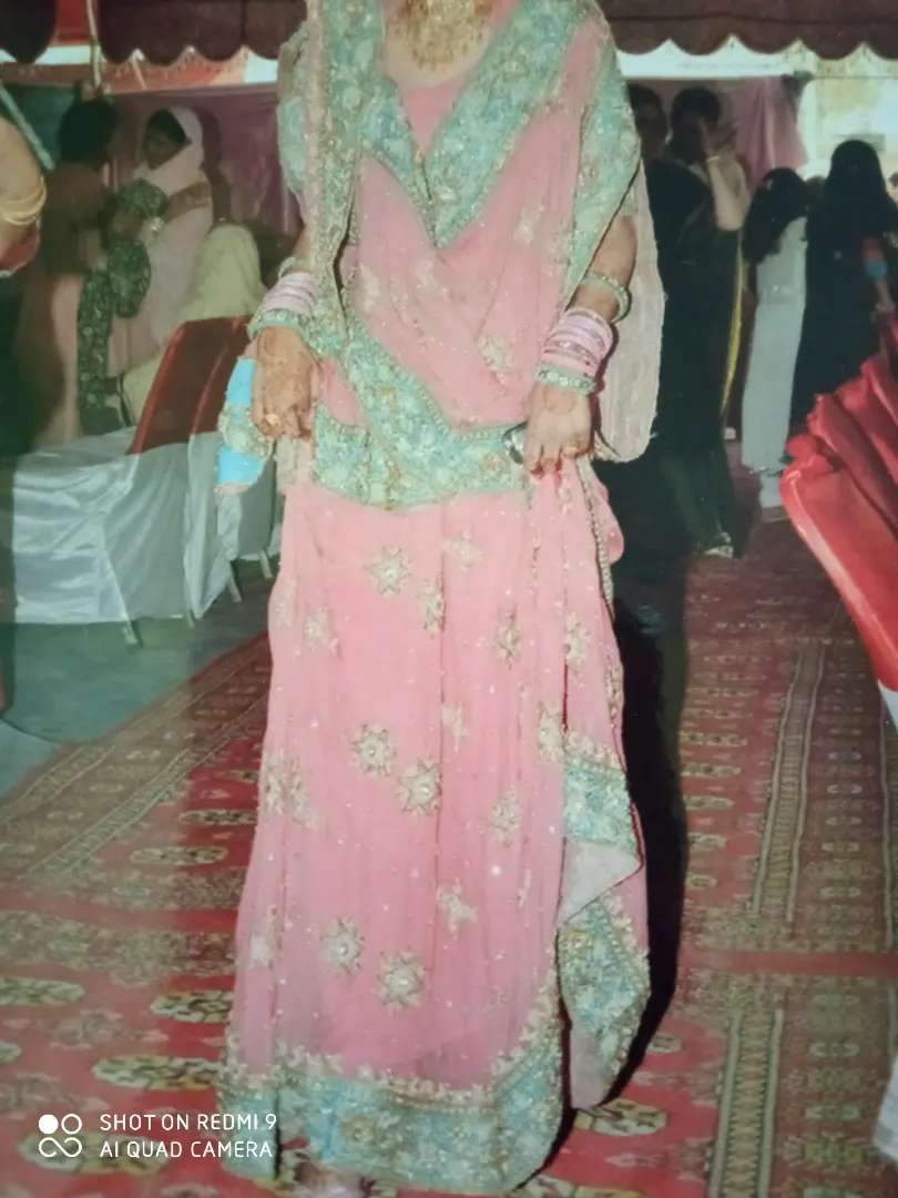 Bridal lahnga only 1st time used.. excellent condition 0