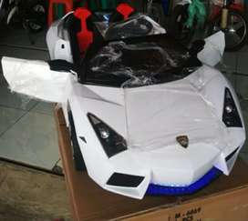 Mobil aki mainan anak lamborghini remot pmb 6869