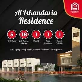 al iskandaria residence, perumahan dekat kantor baru pemda gunungkidul