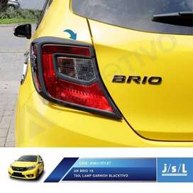 garnish belakang blacktivo ( all new BRIO ) kikim variasi paris