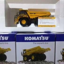 Diecast atau miniatur Alat Berat  type Komatsu HD605