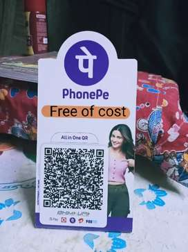 PHONEPE  free of cost ... Only for shop