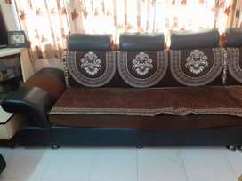 Sofa set with extra sofa chair