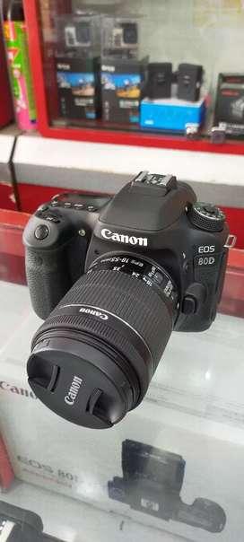 Kamera Canon EOS 80D Kredit Bisa Hanya 3 Menit
