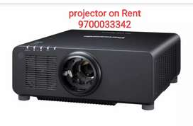 Projector on Rent with all the ecumnts