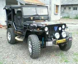 New design modified willys jeep