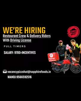 Full-timers for Pizzahut Funmall Coimbatore