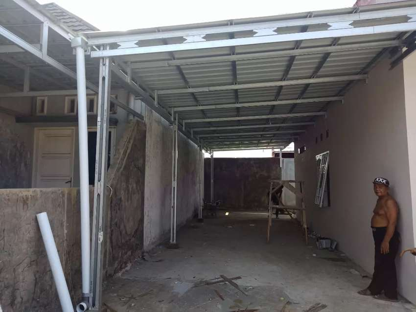 Pemasangan kanopi rangka   atap baja ringan TASSO 0