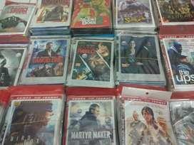 Kaset DVD koleksi pribadi