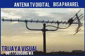 Pemasagan Antena tv + pararel instalasi