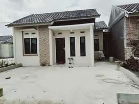 Rumah baru type 36 di Jl Perjuangan Palas Rimbai