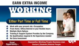 Part Time Work / Extra Income Opportunity