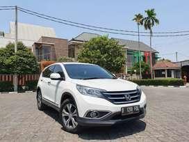 Honda CR-V 2.4 AT 2013 Tdp27Jt Putih Istimewa Tangan Pertama Km Rendah