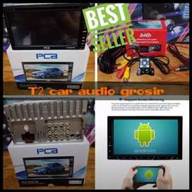 Promo Dvd 2din canggih bisa mirrorlink android PCA 7inc+camera hd