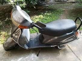 Good condition Activa with helmet