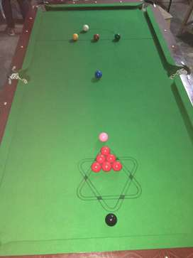 2 Weeks Useable Snooker Table 4*8