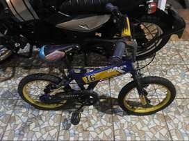 Sepeda anak Wymcycle kondisi layak pakai jual murah aja gan