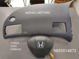 Airbags for Honda city ivtec and civic