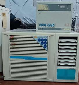 Onida 1.5 Ton 3 star AC Good Working with Heavy duty Stabilizer copper