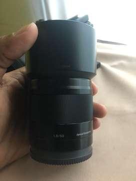Sony 50mm 1.8 oss MULUS LENGKAP