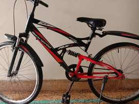 A good condition sport bicycle one year old