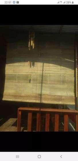 Tirai bambu,rotan 2×2