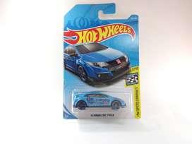 Hotwheels 16 Honda Civic Type R Warna Biru