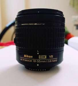 Nikon 18-55 mm f/3.5-5.6G AF-P DX VR Nikkor Lens