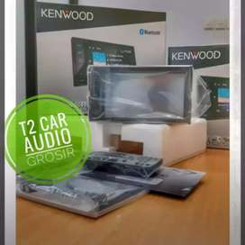 Dvd 2din KENWOOD DDX419BT terbaru plus camera hd harga grosir om
