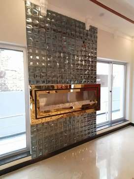 Fireplace gas and electric heater marble  granite structure