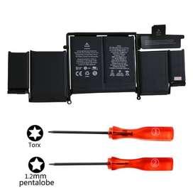 baterai laptop APPLE Macbook A1502, A1582, batrai apple seri a1502