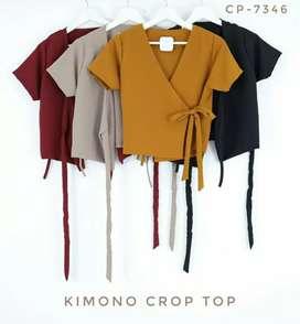 Baju X4 - Kimono Crop