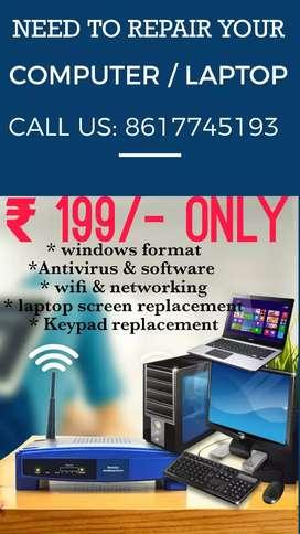 Required desktop support engineer at Tollygunge