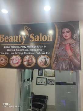 All types work ladies salon