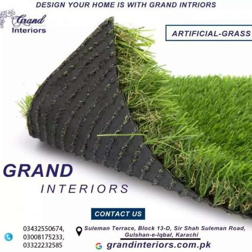 Artificial Grass or turf and sports Grass by Grand Interiors 0