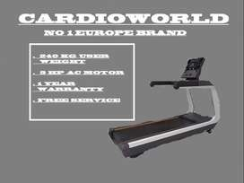 NEW COMMERCIAL TREADMILL WITH 240 KG USER WEIGHT