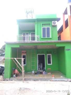 Rumah tingkat bangunan baru