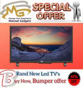 """40"""" inch {<_branded smart led tv with 1 year warranty fully android )>"""
