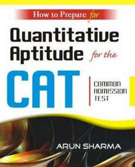 GRE and CAT books