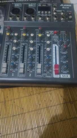 Jual mixer Alesis Best 4 New