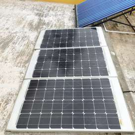 Solar panel full unit Perfectly working no complaints.rate negotiable