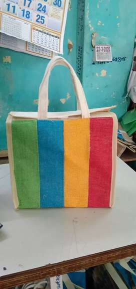 Jute bags available
