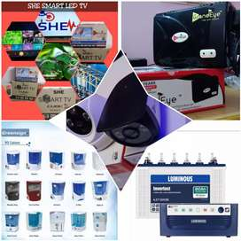 Lowest cost Cctv Cameras & SHE & GRANDEYE LED'S
