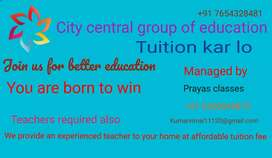 Tuition at your home