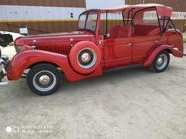 Customized Vintage Wedding Car