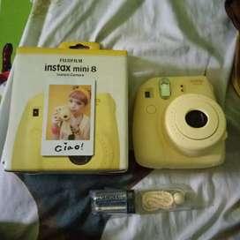Jual Fujifilm Instax mini 8 Masih Baru Ga Pernah Dipake