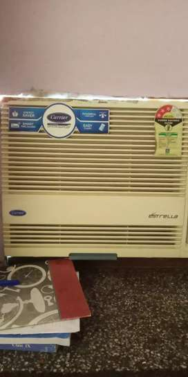 AC-LG 5 YRS OLD,CARRIER 3YRS OLD BOTH 01 TON